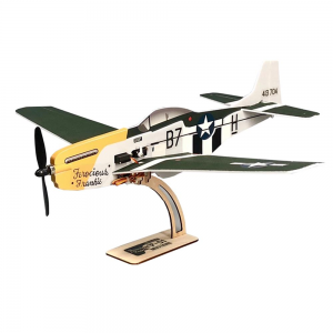 MinimumRC P-51 Mustang 4CH Legendary WWII Fighter