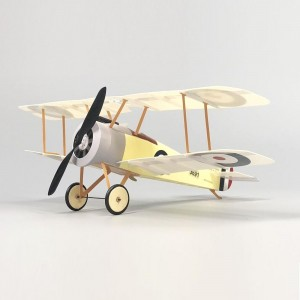 MinimumRC Sopwith Camel 3CH WWI Biplane Fighter