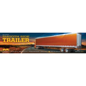 Moebius 53' Smoothside Trailer 1/25 scale