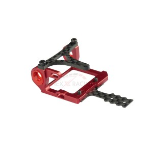 Nexx Racing NX-009 Mini-Z 2WD LCG 98-102mm Alu 7075 Round Motor Mount (RED)