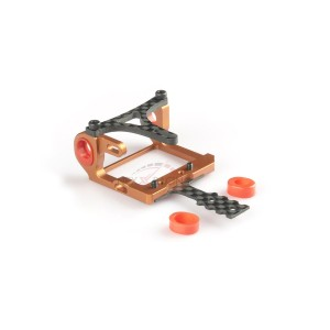 Nexx Racing NX-010 Mini-Z 2WD LCG 98-102mm Alu 7075 Round Motor Mount (ORANGE)