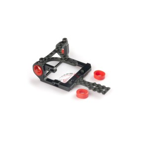 Nexx Racing NX-012 Mini-Z 2WD LCG 98-102mm Alu 7075 Round Motor Mount (BLACK)