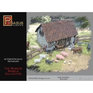 Pegasus 1/72 Farm Animals