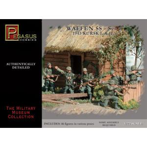 Pegasus 1/72 German Waffen SS Set 1