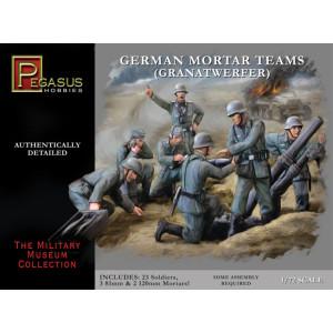 Pegasus 1/72 German Mortar Set
