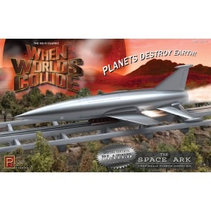 Pegasus 1/350 When Worlds Collide Space Ark Plated Kit