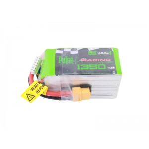 PULSE 1350mah 5S 18.5V 100C - FPV Racing Series - LiPo Battery