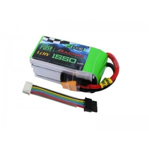 PULSE 1550mAh 4S 15.2V 100C - HV LiPo w/ Removable Balance Wires
