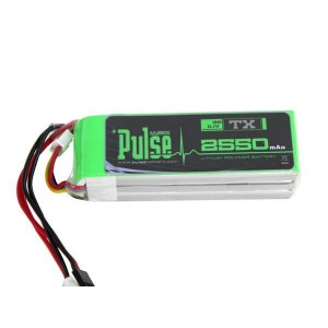 PULSE 2550mAh 3S 11.1V - Transmitter Battery - LiPo Battery