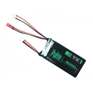 PULSE 3000mAh 7.4V Transmitter Battery (For QX7, Jumper T16 and Others)
