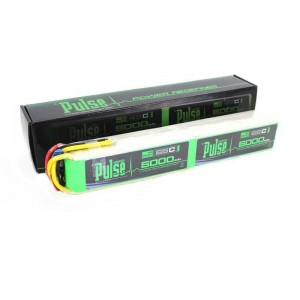 PULSE 5000mAh 12S 44.4V 65C Stick Version - LiPo Battery