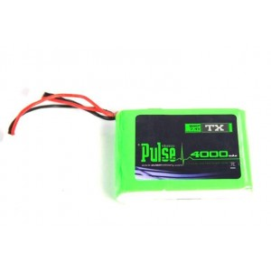 PULSE LIPO 4000mAh 2S 7.4V - For DX7S/DX8/DX9 TX - LiPo Battery