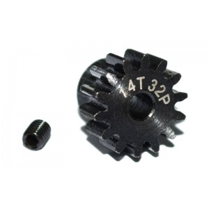 RC4WD 14t 32p Hardened Steel Pinion Gear