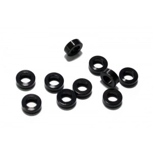 RC4WD 2mm Black Spacer with M3 Hole (10)
