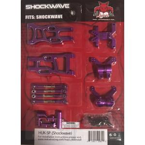 Redcat Racing HUK-5P Aluminum Hop Up Upgrade Kit for Shockwave