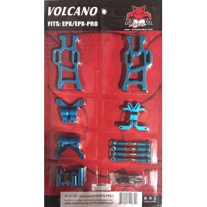 Redcat Racing HUK-1B Aluminum Hop Up Upgrade Kit for Volcano EPX / EPX PRO