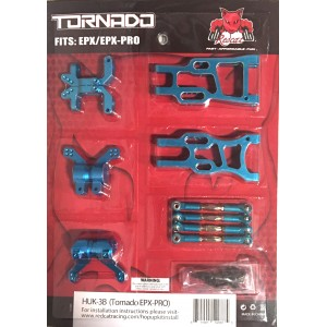 Redcat Racing HUK-3B Aluminum Hop Up Upgrade Kit for Tornado EPX / EPX PRO