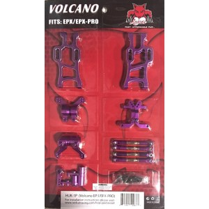Redcat Racing HUK-1P Aluminum Hop Up Upgrade Kit for Volcano EPX / EPX PRO