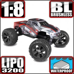 Redcat Racing Terremoto V2 1/8 Scale Brushless Electric Monster Truck