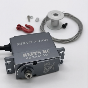 Reef's RC 422HDv2 Servo Winch w/ Built In Controller