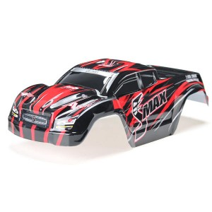REMO HOBBY D3602 1/16 Red Monster Truck Body Shell Red