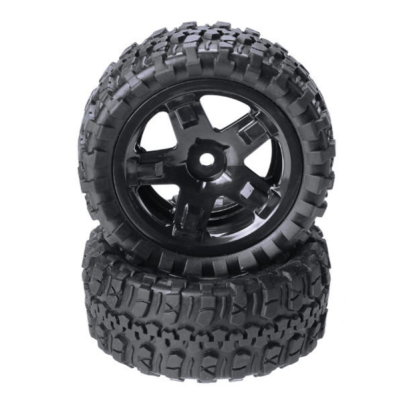 REMO HOBBY P6971-S Tires Assembly 1/16 RC Car Parts Short Course Truck Rocket 1621 Tires Wheels