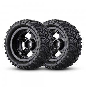 REMO HOBBY P6971-M Tires Assembly 1/16 RC Car Parts Monster Truck SMAX 1631 Wheels Tires