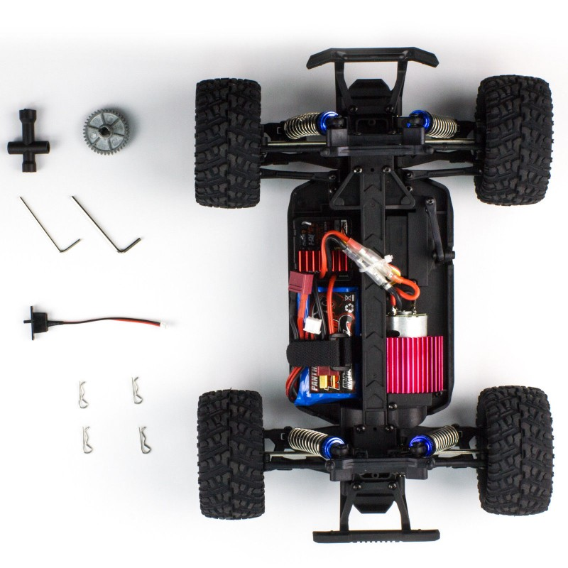 Remo Hobby Rocket 1631 Brushed RC Monster Truck 30MPH 2.4G 4WD - RTR