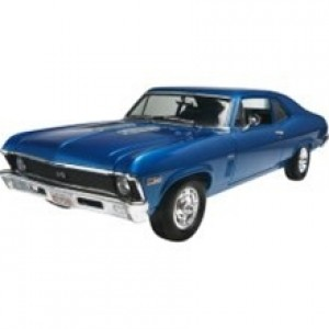 V8 Engine with Stock Fuel-Injected /& Blown Parts 1//25 Scale 69 Chevy 396 Cid