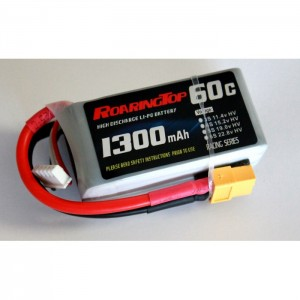 RoaringTop 60C 1300 mAh 4S HIGH VOLTAGE VERSION