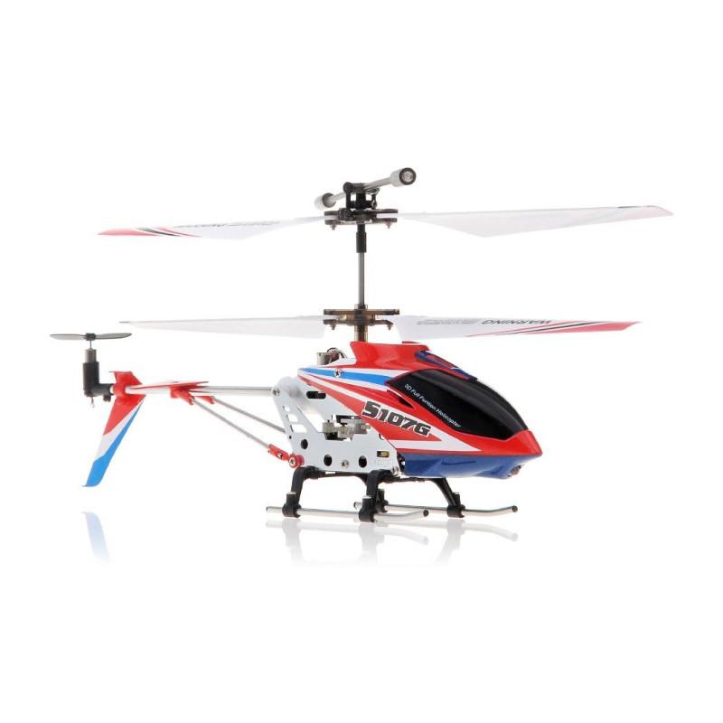 Syma S107G 3.5 Channel 3CH Mini Metal Remote Control Helicopter w/Gyro