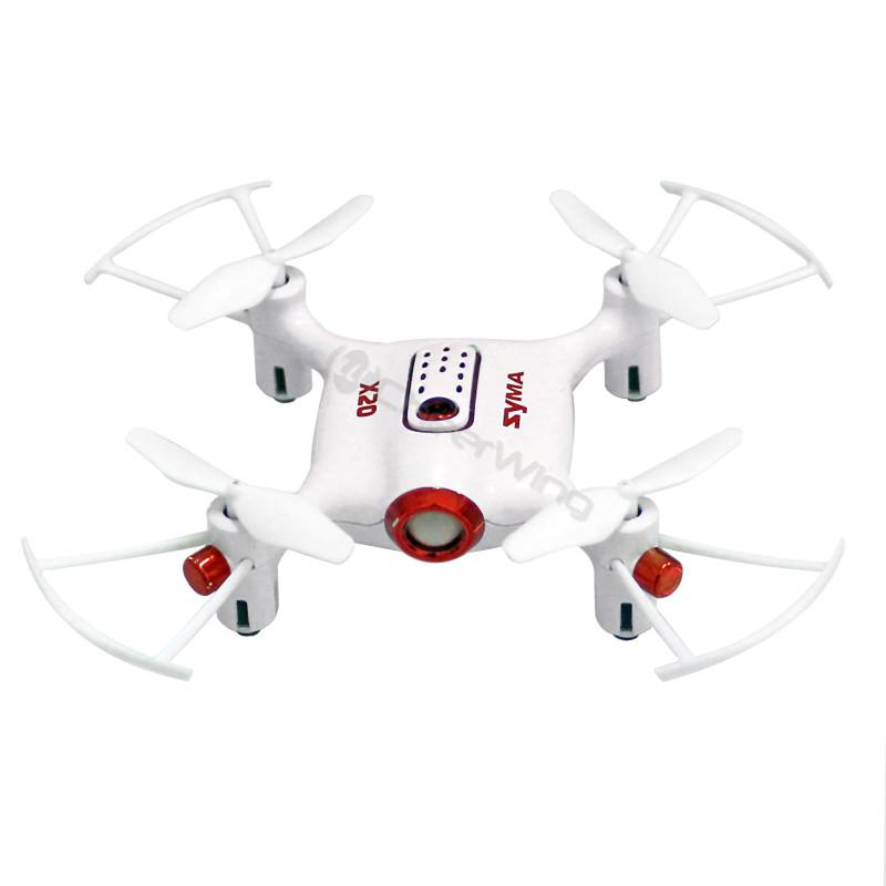 Syma X20 Pocket Drone 2.4Ghz Mini RC Quadcopter Altitude Hold Headless Mode RTF