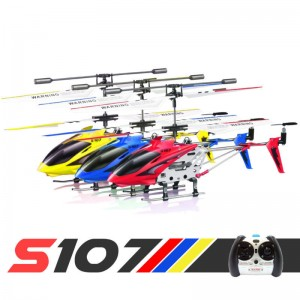 Syma S107G 3.5 Channel 3CH Mini Metal Remote Control Helicopter w/Gyro