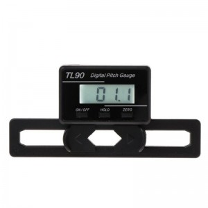 TL90 Digital Pitch Gauge LCD Display Backlight Blades Angle Measurement Tool