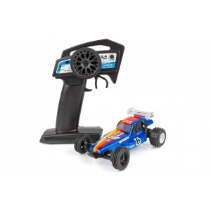 Team Associated RC28 RTR Jammin' Jay Halsey 1985 IFMAR Replica Buggy, 1/28 Scale 2WD w/ Battery, Charger and Radio