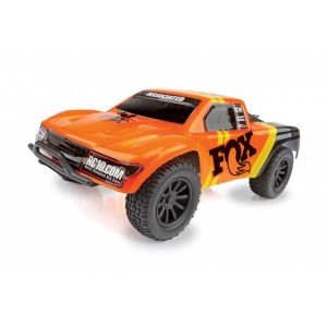 Team Associated SC28 Fox Factory Edition Micro Short Course Truck RTR Kit, 1/28 Scale, 2WD
