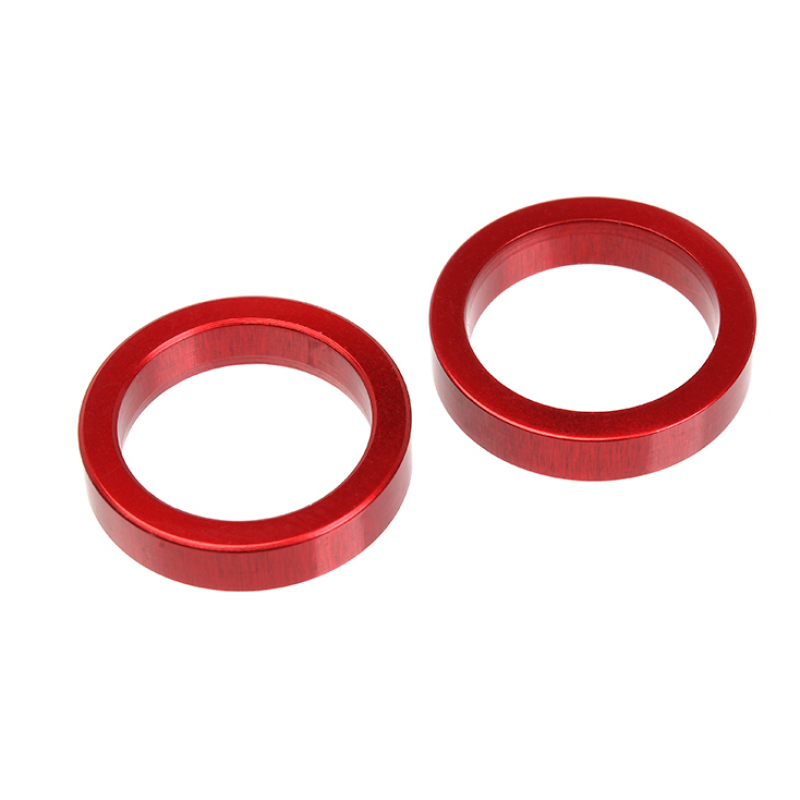 Team Corally - Aluminium Spacer Drive Axle - Front - 2 pcs