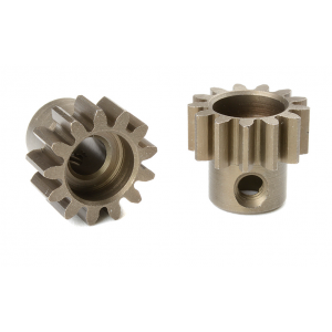 Team Corally - M1.0 Pinion - Short - Hardened Steel - 13 Teeth - Shaft Dia. 5mm