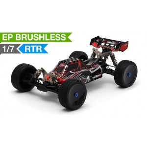 Team Energy A7X 1/7 Scale Brushless Powered Ready to Run Racing Buggy Dimension GT3X AFHDS 2.4ghz 3 Channel Radio System RC Remote Control