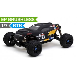 Team Energy M7DT 1/7 Scale Brushless Powered Ready to Run Racing Desert Buggy Dimension GT3X AFHDS 2.4ghz 3 Channel Radio System RC Remote Control