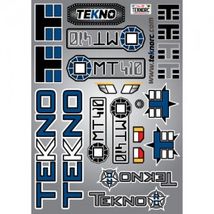 Tekno Decal Sheet (MT410)