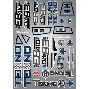 Tekno Decal Sheet (EB410)