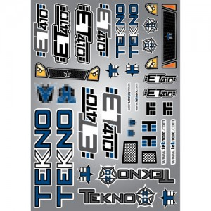 Tekno Decal Sheet (ET410)