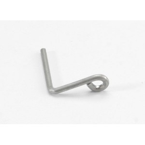 TRAXXAS  Hanger, metal wire (for Resonator pipe in T-Maxx® with long wheelbase)/ telemetry sensor wire hold-down clip