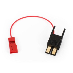 TRAXXAS Connector, power tap (with cable) (short)/ wire tie