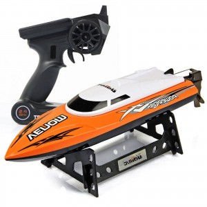"Udirc 001 13"" Venom High Speed Remote Control Electric Boat 2.4GHz"