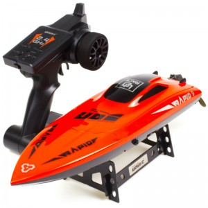 "Udirc 009 17"" High Speed Remote Control Electric Boat 2.4GHz 20mph"