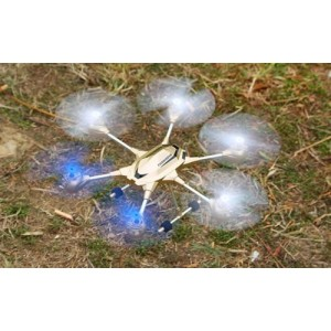W609-9 Pathfinder 2 4.5 Channel RC 6 - Rotor Copter Drone 3D Eversion Blue Color