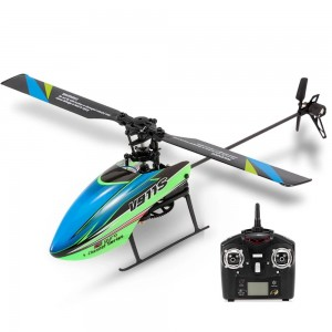 WLtoys V911S 2.4G 4CH Gyro Flybarless Helicopter