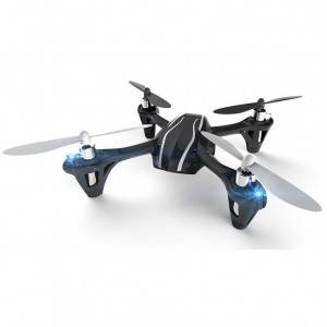 Hubsan X4 H107L 2.4G 4CH 6 Axis RC Quadcopter RTF - Upgraded Version - Black
